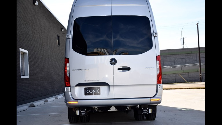 Used 2019 Mercedes-Benz 170 Midwest Day Cruiser Full Partition 3500 Dually Door for sale Call for price at Iconic Sprinters in Fort Worth TX 76106 4