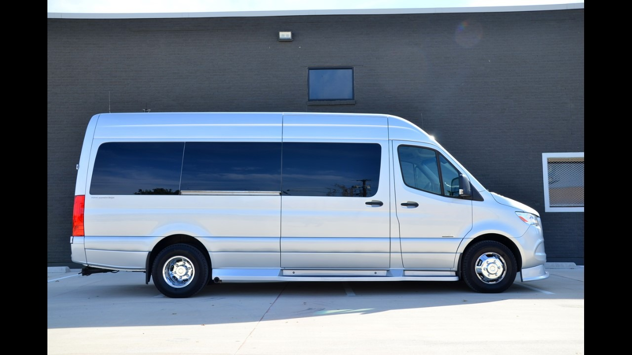 Used 2019 Mercedes-Benz 170 Midwest Day Cruiser Full Partition 3500 Dual Door for sale Sold at Iconic Sprinters in Fort Worth TX 76106 1