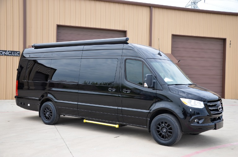 New 2021 Mercedes-Benz Sprinter 170 Iconic Signature Business Lounge Full Partition 3500XD B7 for sale Call for price at Iconic Sprinters in Fort Worth TX 76106 3