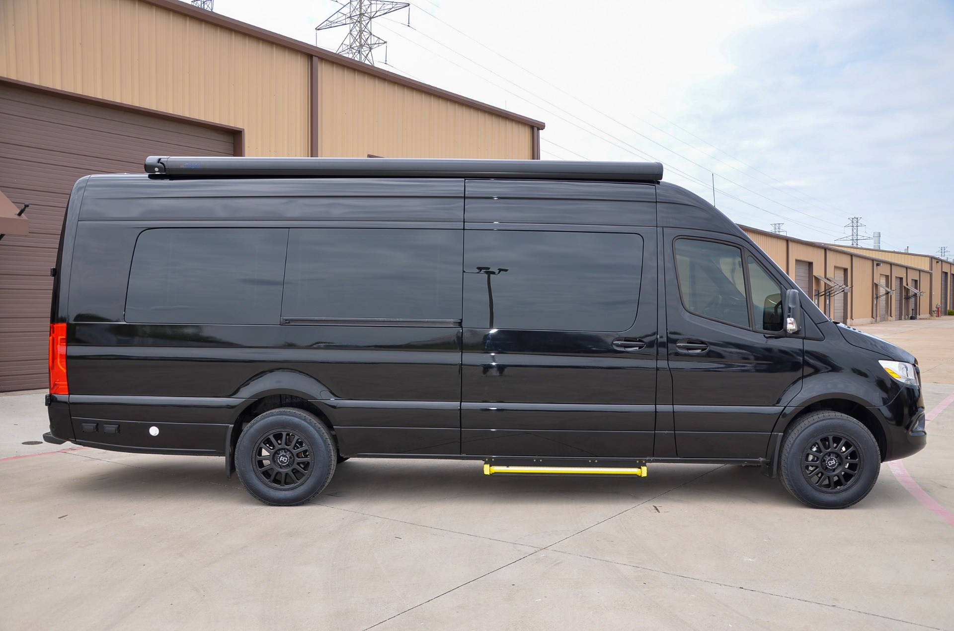 New 2021 Mercedes-Benz Sprinter 170 Iconic Signature Business Lounge Full Partition 3500XD B7 for sale Call for price at Iconic Sprinters in Fort Worth TX 76106 1