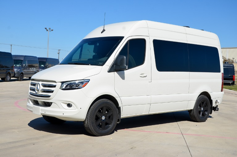 New 2020 Mercedes-Benz Sprinter 144 Metro DayLounge FD6 Open Partition 2500 for sale Call for price at Iconic Sprinters in Fort Worth TX 76106 3