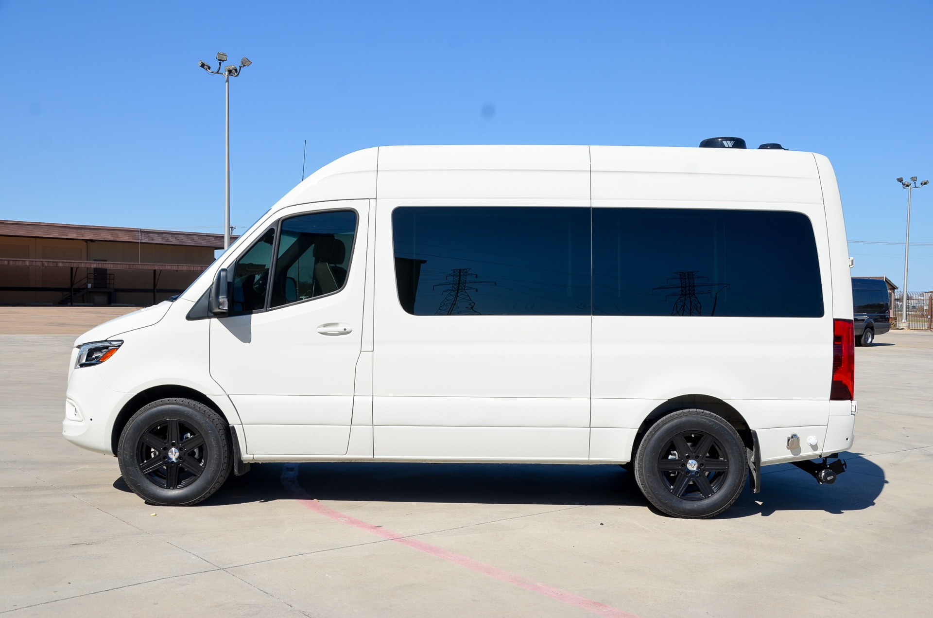 New 2020 Mercedes-Benz 144 Metro Day Lounge 6 Passenger for sale Call for price at Iconic Sprinters in Fort Worth TX 76106 1