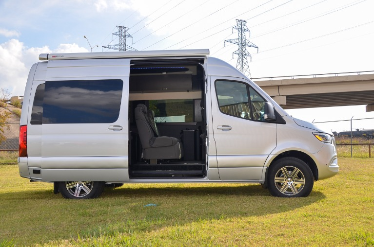 New 2020 Mercedes-Benz Sprinter 144 Metro DayLounge D6 Open Partition 2500 for sale Call for price at Iconic Sprinters in Fort Worth TX 76106 3
