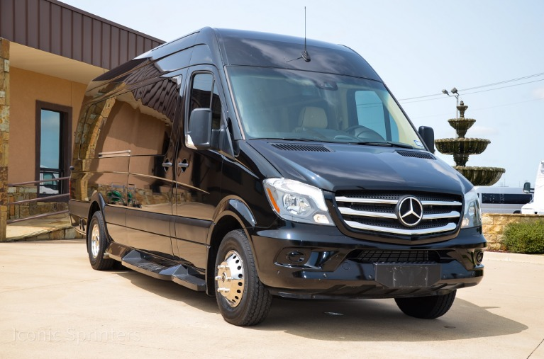 Used 2017 Mercedes-Benz Midwest Automotive Ultimate Toys Presidential / 2019 Conversion for sale Call for price at Iconic Sprinters in Fort Worth TX 76106 3