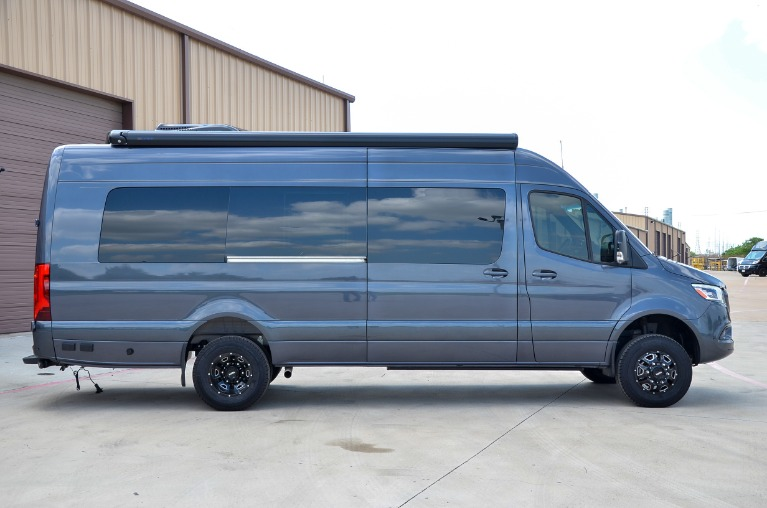 New 2020 Mercedes-Benz Sprinter 170E Family DayLounge FD8 Half Partition Dually 4x4 for sale Call for price at Iconic Sprinters in Fort Worth TX