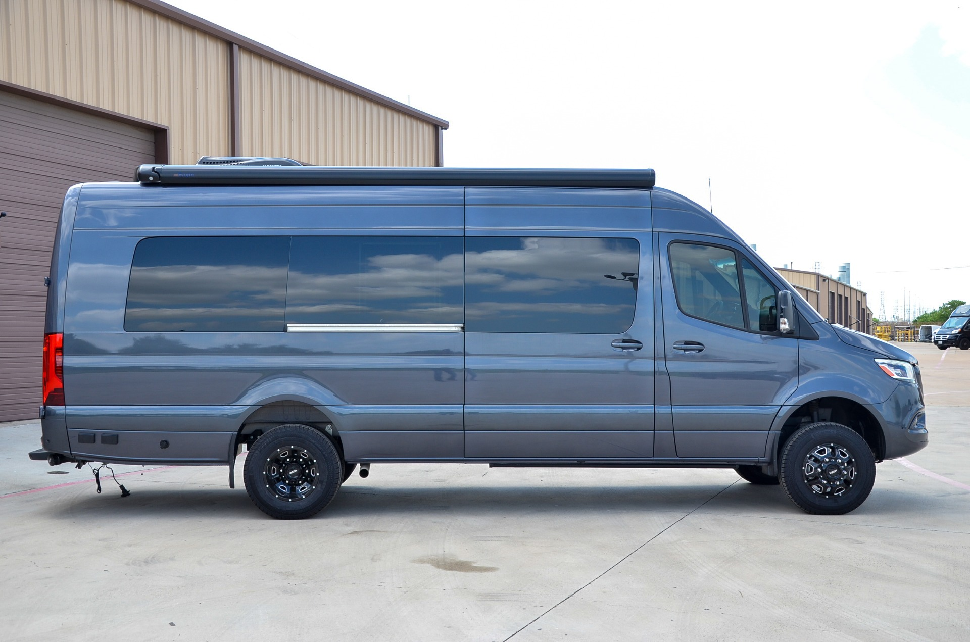 New 2020 Mercedes-Benz Sprinter 170E Family DayLounge FD8 Half Partition Dually 4x4 for sale Call for price at Iconic Sprinters in Fort Worth TX 76106 1