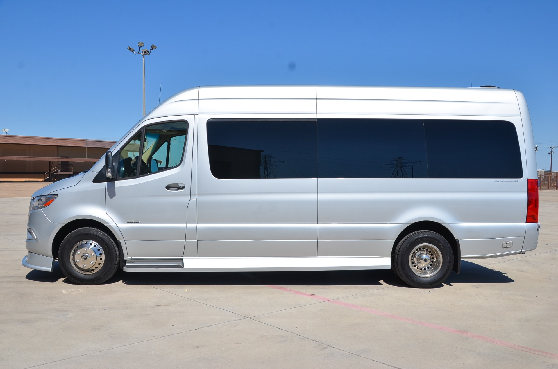 Used 2019 170 Mercedes-Benz Sprinter Midwest Automotive 3500XD Business Class for sale Call for price at Iconic Sprinters in Fort Worth TX 76106 1