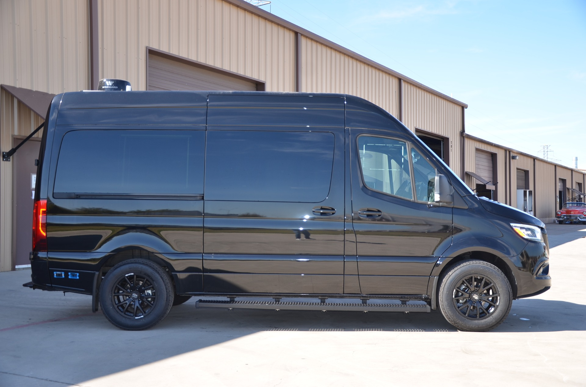 New 2021 Mercedes-Benz 144 Sprinter Metro Day Lounge 2500 D6 for sale Call for price at Iconic Sprinters in Fort Worth TX 76106 1