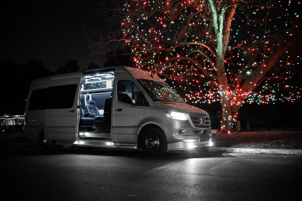 Mercedes-Benz Business Club J Luxury Sprinter Van - For Sale - Iconic Sprinters - Dallas Texas